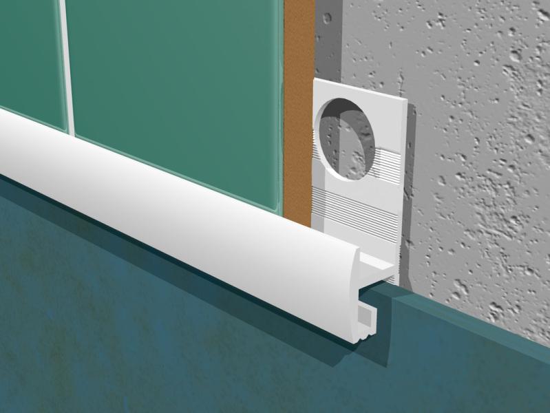 The Glueman Ltd LTD - Tile to Vinyl PVC Trim